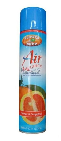 FLOWERSHOP osvěžovač  spray 300ml CITRUS ZING